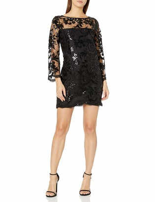 Cupcakes And Cashmere Women's Callista Sequin Lace Dress