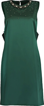 Erdem Rivanna Crystal Embroidered Dress