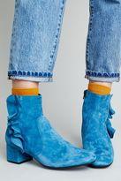 Anthropologie Tilda Suede Ankle Boots