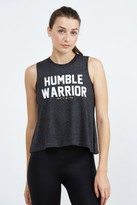 Spiritual Gangster Humble Warrior Crop Tank