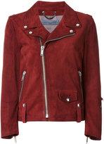 Golden Goose Deluxe Brand classic biker jacket - women - Leather/Cupro/Viscose - 40