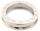 Bulgari B.Zero1 18K White Gold Band Ring Size 7.0