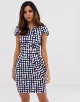 Closet London Closet gingham pencil dress