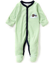 Starting Out Baby Boys Newborn-6 Months Striped Football Coverall