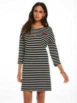 Scotch & Soda Breton Striped Sweat Dress