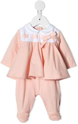 Fendi gathered baby romper