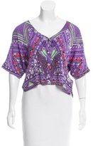 Mara Hoffman Printed Silk Top