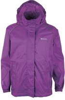 Mountain Warehouse Pakka Kids Waterproof Rain Jacket Girls Boys Toddlers