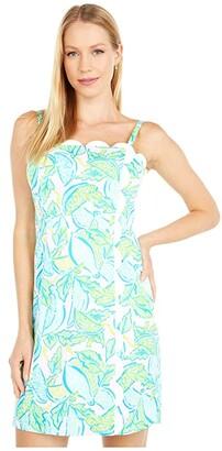 Lilly Pulitzer Mercede Stretch Dress (Urchin Pink Vitamin Sea) Women's Dress