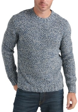Lucky Brand Men's Marled Knit Sweater
