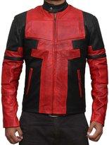 BlingSoul Deadpool Leather Jacket PU Leather (L)