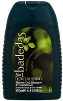Badedas Revitalising Shower Gel, Shampoo & Conditioner 200ml'