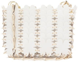 Paco Rabanne Clover Nano Mini Cross-body Bag - White