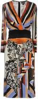 Just Cavalli Knee-length dresses - Item 34736312