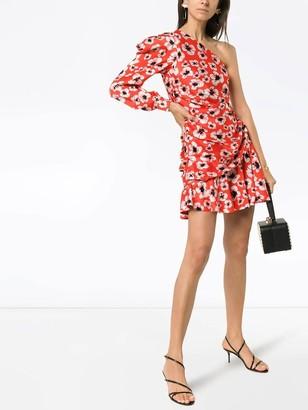 Borgo de Nor Christina Floral Print Mini Dress