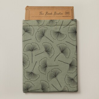 Indigo Paper Good Earth Book Bestie Book Sleeve Green Ginko