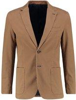 Cortefiel Suit Jacket Beige/roasted
