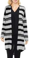 Vince Camuto Striped Duster Cardigan