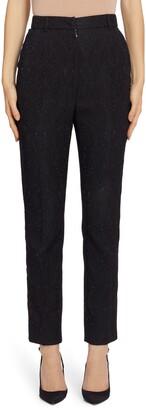 Dolce & Gabbana Brocade Slim Pants