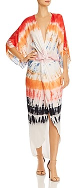 Young Fabulous & Broke Siren Tie-Dyed Twist Dress