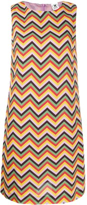 M Missoni Rainbow Zigzag Dress