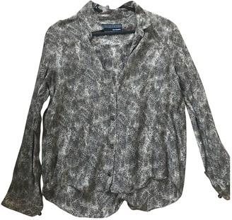 The Kooples Beige Cotton Top for Women