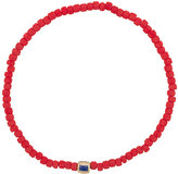 Luis Morais Enameled Stripe beaded bracelet