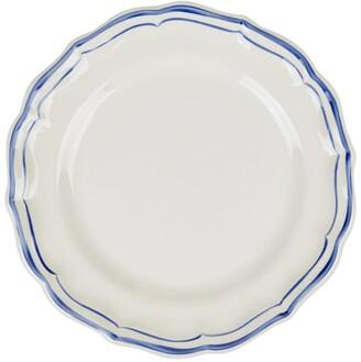 Gien Filet Bleu Dessert Plate (22Cm)