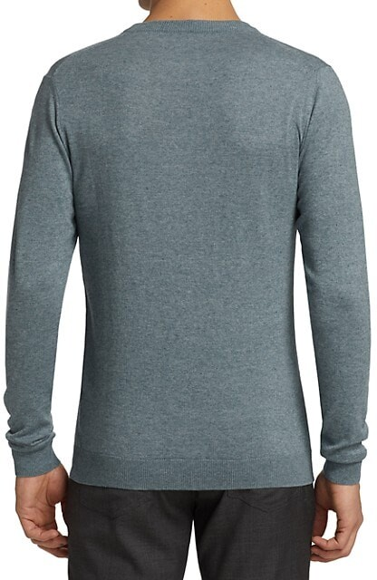 Thumbnail for your product : Saks Fifth Avenue Slim-Fit Melange Crewneck Sweater