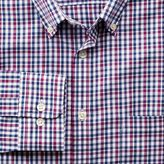 Charles Tyrwhitt Slim fit non-iron poplin pink and blue multi check shirt