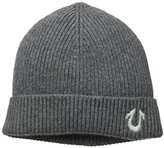 True Religion Men's Ribbed Solid Watch Cap