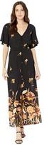 Billabong Autumn Breeze Dress (Black) Women's Clothing