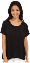 Lilla P Warm Viscose Short Sleeve Pocket Tee Women's T Shirt