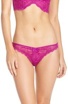 L'Agent by Agent Provocateur Women's 'Leola' Sheer Tanga