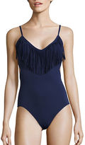 Vince Camuto Fringed One-Piece Swimsuit