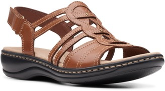 Clarks Collection Leather Fisherman Sandals - Leisa Janna