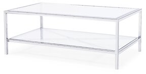 Blink Home Gardner Coffee Table Color: Silver