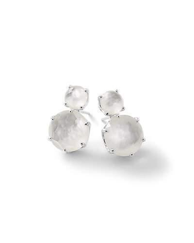 Ippolita Rock Candy® Two-Doublet Earrings in Clear Quartz Doublet