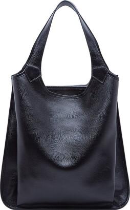 BOYATU Genuine Leather Handbags for Women Fashion Ladies Shoulder Bag Large Tote