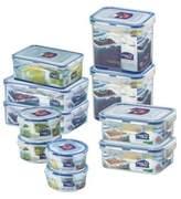 Lock & Lock® 22-Piece Food Storage Set in Clear/Blue
