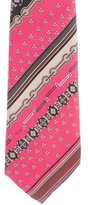 Emilio Pucci Silk Printed Tie