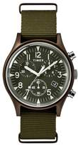 Timex R) MK1 Chronograph Nylon Strap Watch