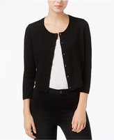 Maison Jules Lace-Trim Cardigan, Only at Macy's