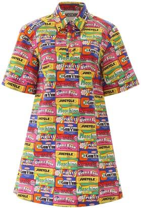 Moschino Chewing Gum Shirt Dress
