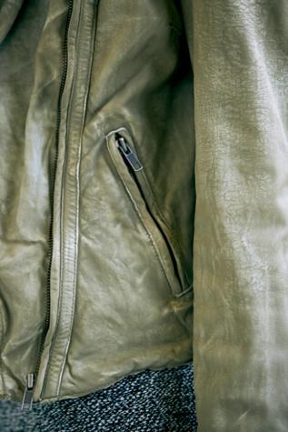 Free People Leather Biker Jacket