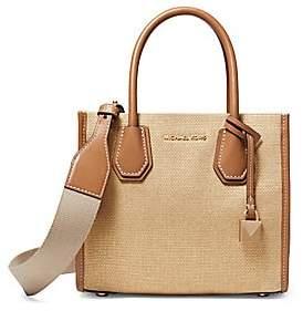 4218cc38711c MICHAEL Michael Kors Women's Mercer Leather Messenger Bag