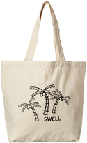 Swell Lost Co-op Tote Bag Black