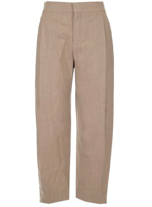 Chloé Classic Carrot Cropped Trousers