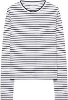 Gant Long-Sleeved Striped Pocket Tee