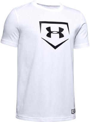 Under Armour Boys' UA Plate Graphic T-Shirt